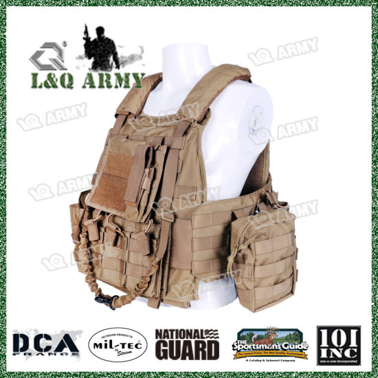 China Durable Body Armor Molle Plate Carrier with Magazine Pouch ... ff0f319cf2242