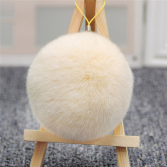 2016 Hot Wholesale Real Rabbit Fur Pompom Knitted Hat pictures & photos