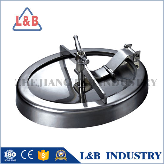 Hot Sale Stainless Steel Oval Manhole pictures & photos