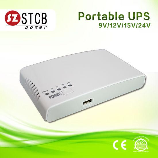 [Hot Item] Stcb New Mode DC 9V 12V 15V 24V Mini UPS Mn4 for IP Camera