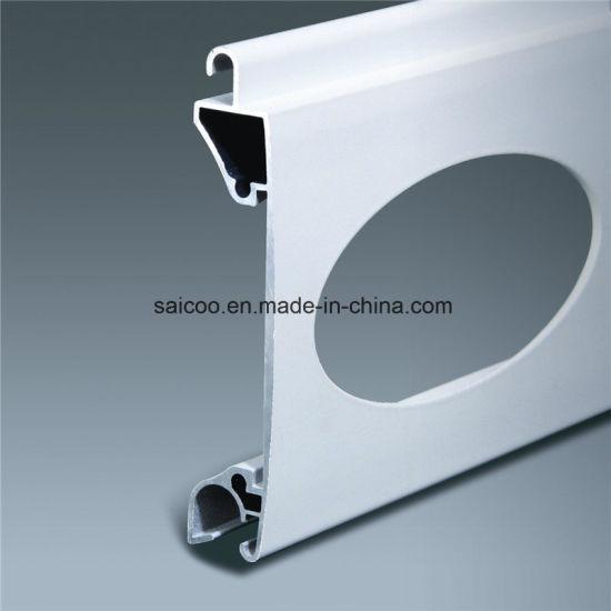 77mm 55mm Aluminium Profiles Slat