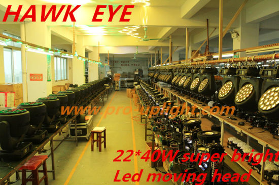Hawk Eye 22*40W RGBW 4in1 B-Eye K10 LED Moving Head pictures & photos
