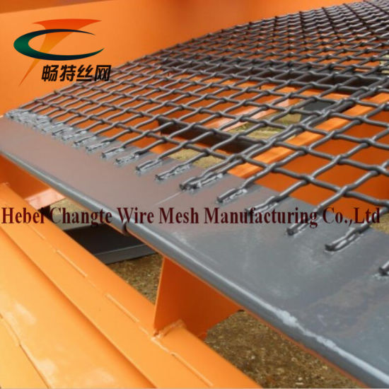 High Tensile Strength and Toughness Crimped Wire Mesh Used in Vibrating  Stone Crushers