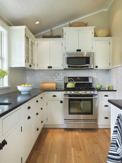 Home Furniture Solid Wood Kitchen Cabinet White Cabinet Kitchen