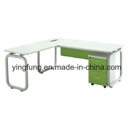 New Model Office Computer Table with MDF Melamine (YF-T5001) pictures & photos
