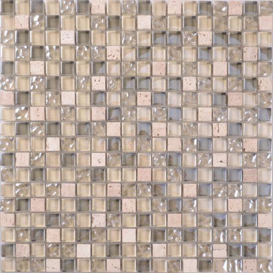 Mix Natural Stone Mosaic Tile Sheets