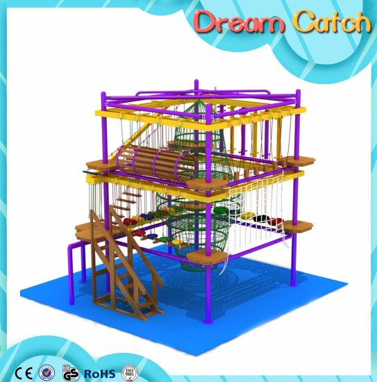 Indoor High Challenge Adventure Ropes Courses for Kids pictures & photos