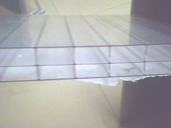 Triple-Wall PC (Polycarbonate) Sheet pictures & photos