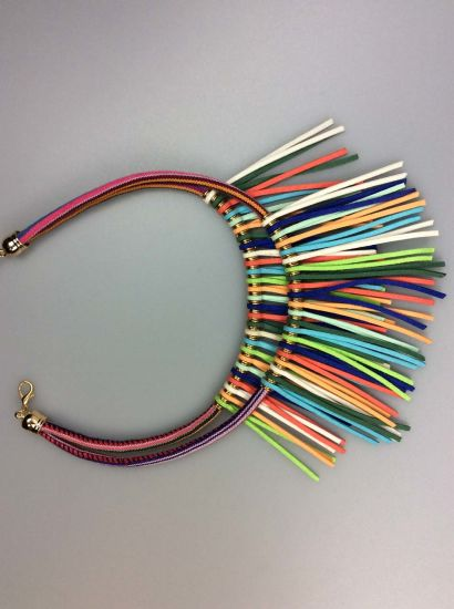 Women Fashion Accessory Polyester Cord Necklace for Ladies pictures & photos
