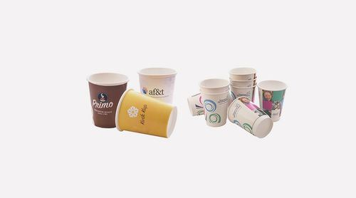 Disposable Logo Printing Paper Cups pictures & photos