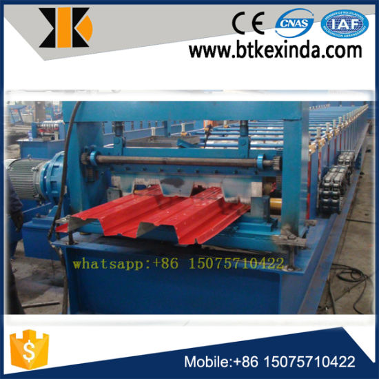 Metal Roof Panel Floor Decking Roll Forming Machine pictures & photos