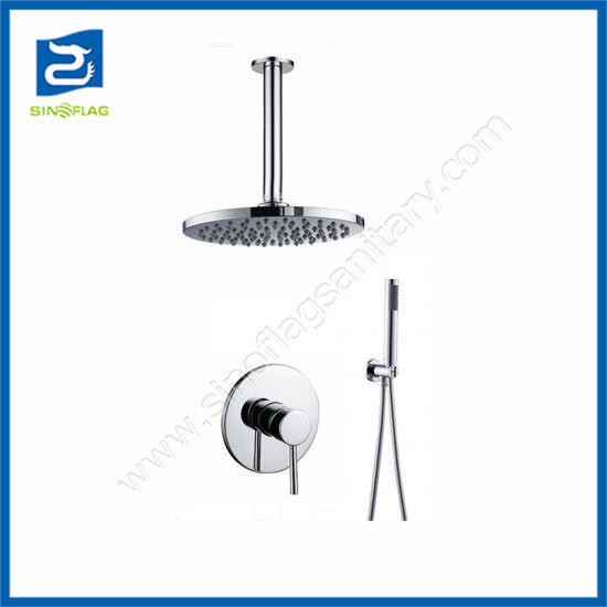 Hot Sale in-Wall Thermostatic Concealed Bath Shower Mixer Faucets