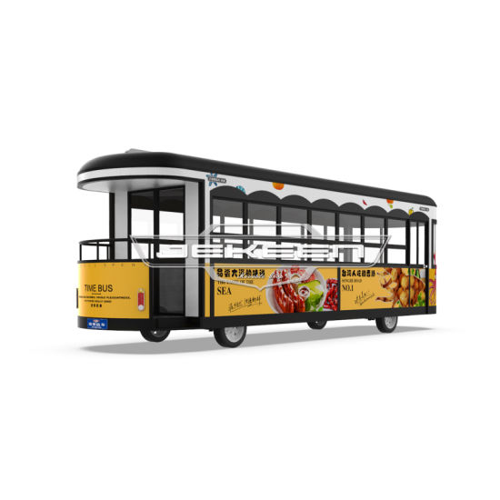 Jekeen High Quality Customized Food Truck Street Food of Time Bus-8