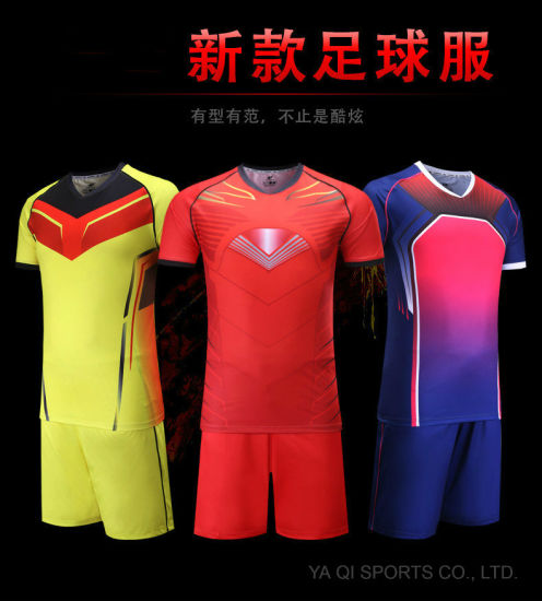 2bcc8c360a2 Custom Sublimation Best Quality Low MOQ Quick Dry Soccer Jersey Football  Shirts