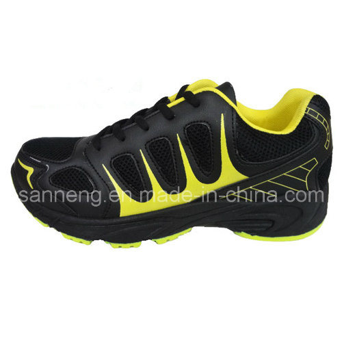 Men Sport Shoes with PVC Injection Shoes (S-0123)