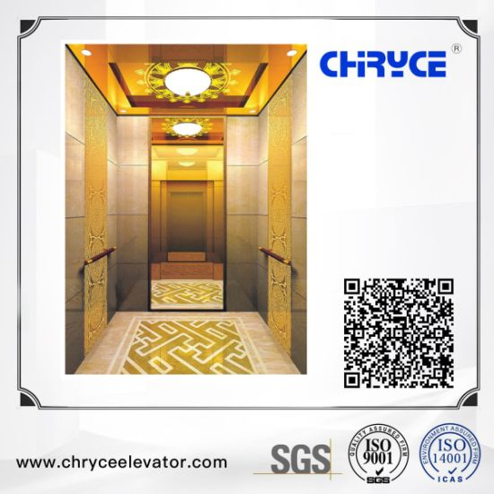 FUJI Sightseeing Home Villa Passenger Elevator Lift for Residential Building Price