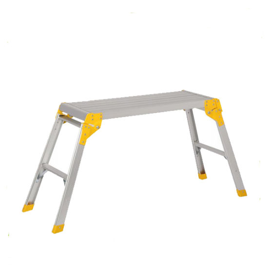 Aluminium Working Platform Ladder with GS Approval pictures & photos