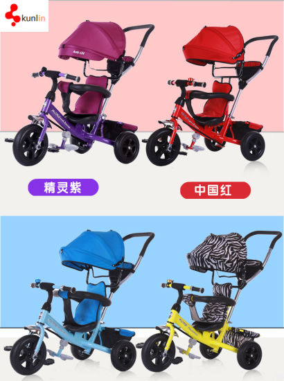 Little Baylor 4 in 1 Kids Tricycle with Canopy  sc 1 st  Baoding Kunlin Industry Co. Ltd. & China Little Baylor 4 in 1 Kids Tricycle with Canopy - China Ride ...