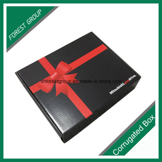 Glossy Back Corrugated Foldable Shipping Box with Printing pictures & photos