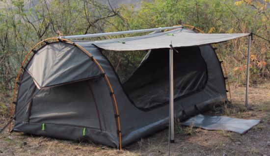 Little Rock Ripstop Single Swag Tent for Wild Outdoor pictures & photos