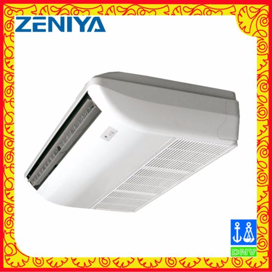 Environmental Surround Air Flow Ceiling Cassette Fan Coil Unit pictures & photos