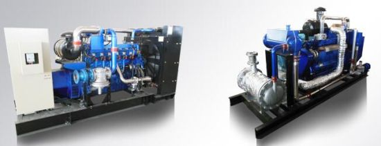 6 Cylinder 100kw Producer Gas Generator pictures & photos