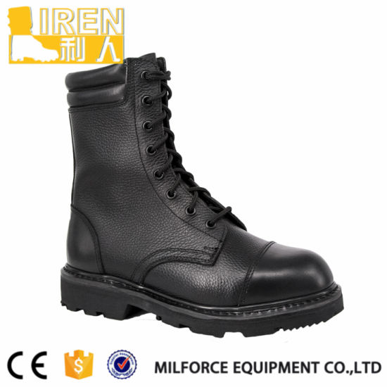 Comfortable Cow Leather U. S Men Army Boots pictures & photos