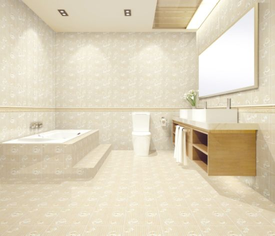 China 300x600mm Ceramic Wall And Floor Tile For Bathroom With Cheap