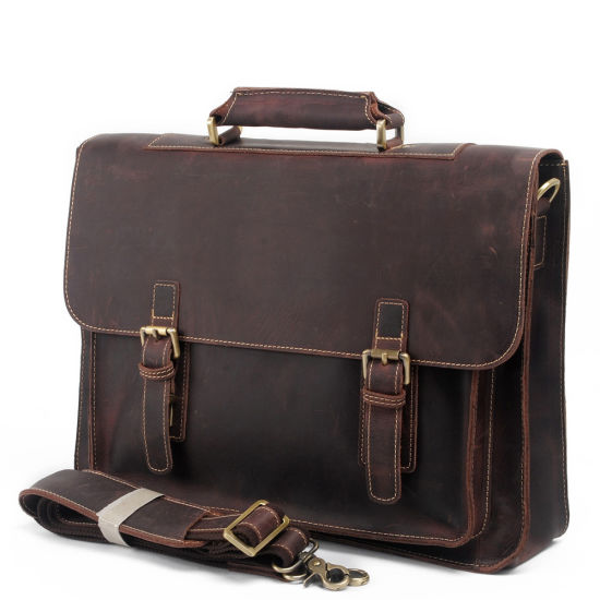 High Quality Genuine Leather Man Fashion Handbag (RS-MKL8017) pictures & photos