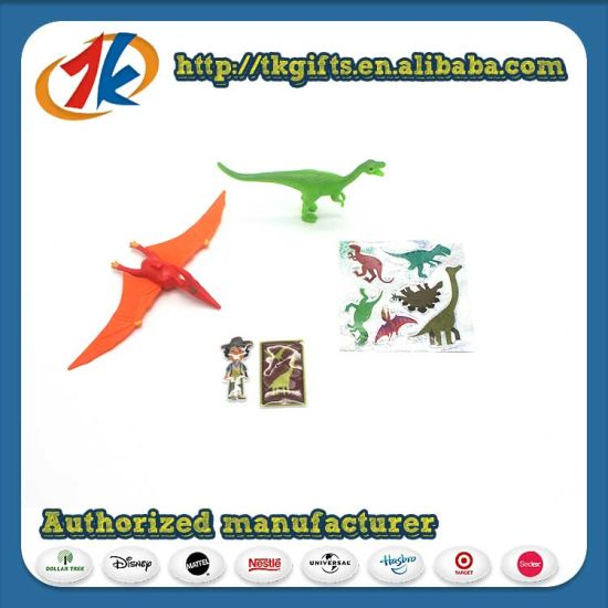 Kids Mini Diosaur Toy with 3D Stickers