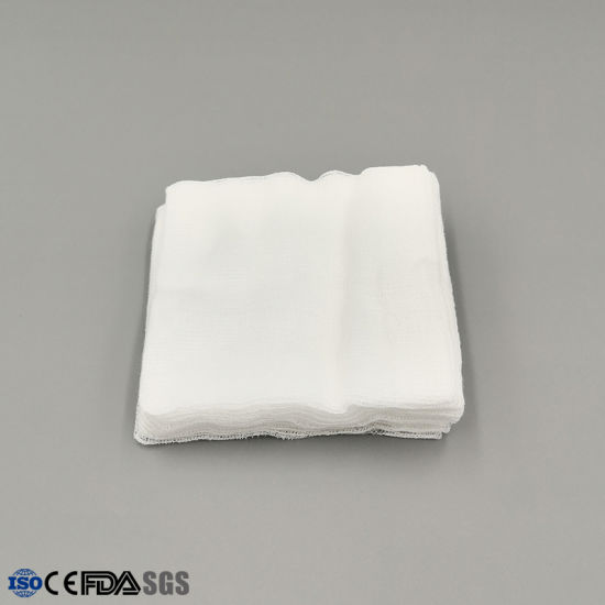 Medical Products Disposable Sterile Gauze Swab for Wound Dressing pictures & photos