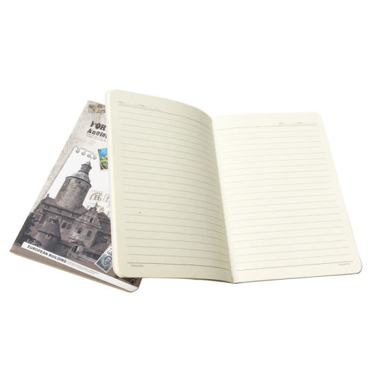 Softcover Eco-Friendly Customized Printed Notebook for School pictures & photos