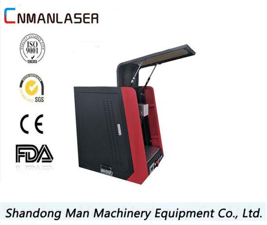 20W Fiber Laser Marking Machine for Sickle, Pliers, Screwdriver