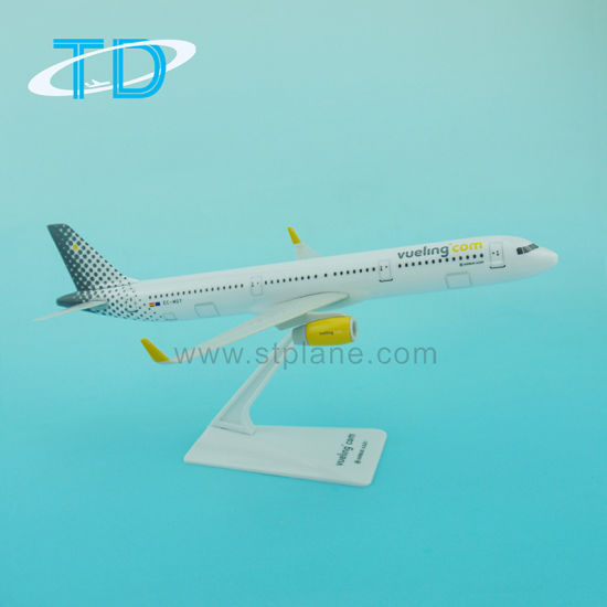 China Hot Sale Airbus A321neo Vueling 22cm 1/200 Plastic