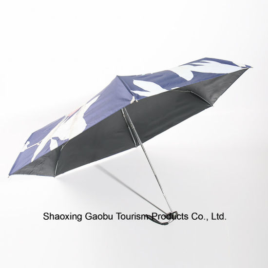 Mini 5 Fold Umbrella with UV Protection pictures & photos
