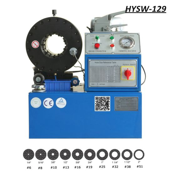 Hysw-129 Hydraulic Hose Crimping Machine/ Pressing Machine