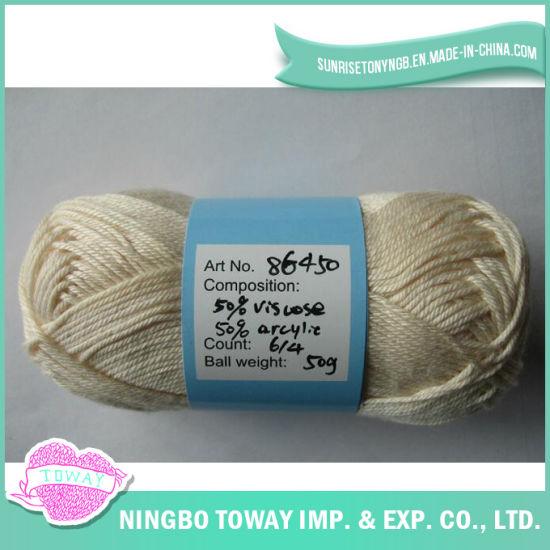 100% Cotton Cross Stitch Thread Wool Hand Knitting Yarn