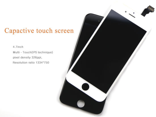High Quality Mobile Phone LCD Touch Screen for iPhone 6-AAA Black Factory Price