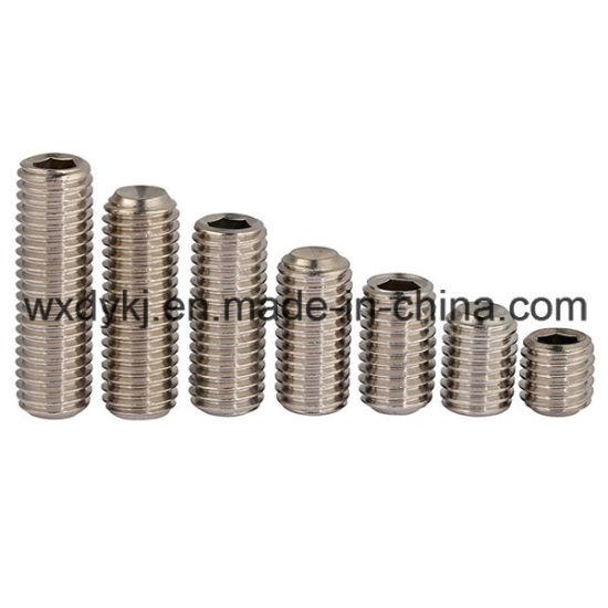 Stainless Steel Socket Cap Set Screw