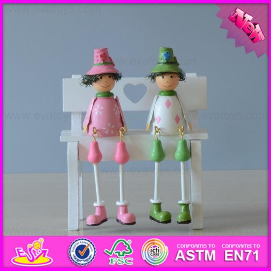 2016 Wholesale Baby Wood Outseam Doll, Fashion Kids Wood Outseam Doll, Hot Sale Children Wood Outseam Doll W02A149