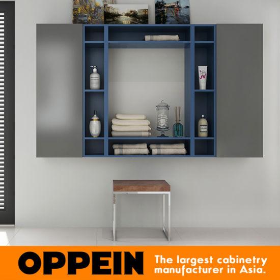 Oppein Modern Bathroom Furniture Set Wall Mounted Bathroom Medicine Cabinets  (BC17 A01)