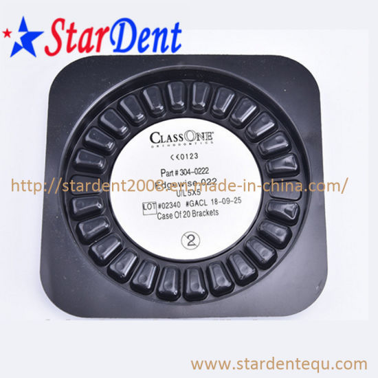Dental Orthodontic Ceramic Brackets of Hospital Medical Lab Surgical Diagnostic Equipment pictures & photos