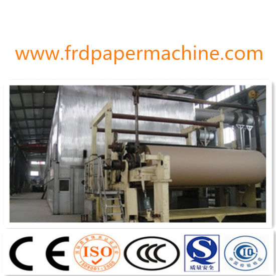 Professional Manufacturer Supply Culture Writing Newsprint Paper Notebook Making Machine A3/A4 Paper Machine for Paper Notebook Recycled