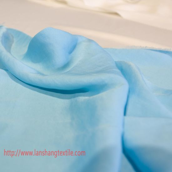 Polyester Fabric Sea-Island Polyester Filament Fabric Chemical Fabric Dyed Fabric for Garment Dress Shirt Home Textile pictures & photos