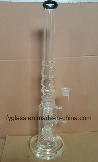 Wholesale Ice Pinch Glass Water Pipe Glass Pipe-Fya633 pictures & photos