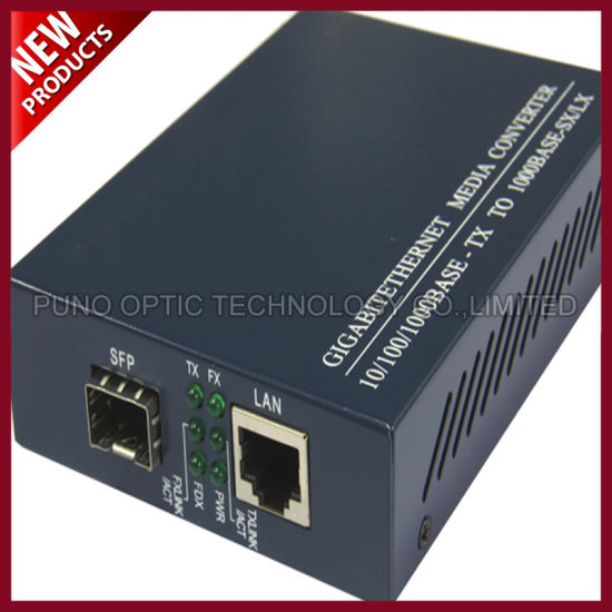 10/100/1000M SFP Connector Ethernet Media Converter Network pictures & photos