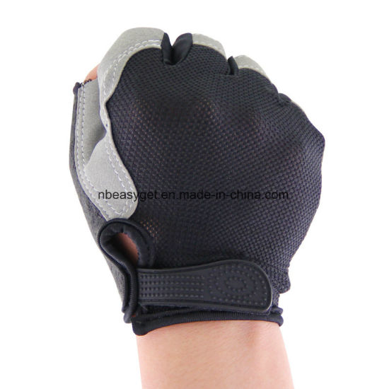 Women′s Light Non-Slip Half Finger Gel Pad Cycling Gloves Breathable Mountain Biking Riding Gym Sport Gloves pictures & photos