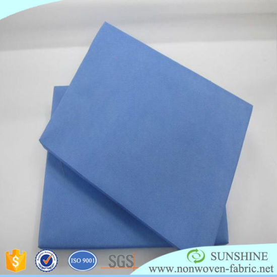 Pre-Cuted Disposable Nonwoven Laminated Tablecloth pictures & photos