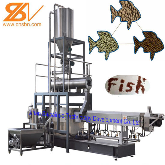 2018 Hot Sale Automatic Tilapia Fish Feed Machinery Extruder Plant Production Line