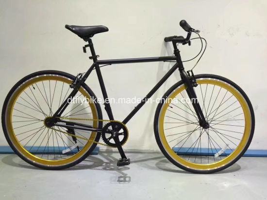 China 700c Steel Frame Road Bike, Fixed Gear Bike, - China Bike, Bicycle